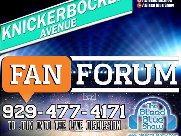 Knickerbocker Ave Fan Forum – Post Game (Knicks vs Sixers) & NBA Playoffs