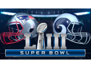 Superbowl LIII – Rams vs Patriots