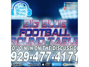Big Blue Round Table  – Open Round Table