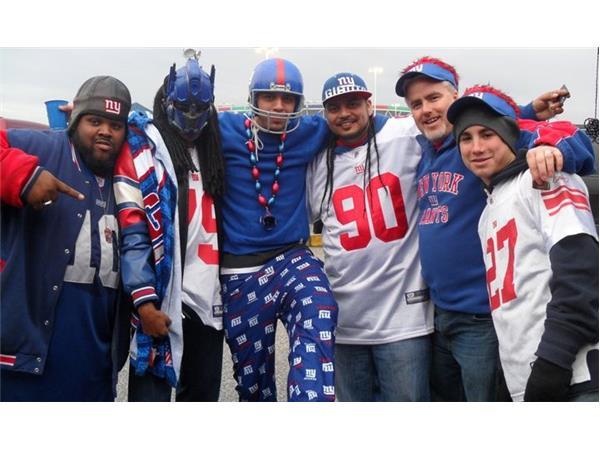 Die Hard NY Giants Fan – The Mask