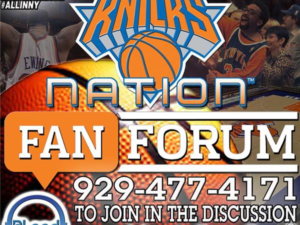 Knicks Fan Forum – Post Game (Vs Portland Trailblazers)
