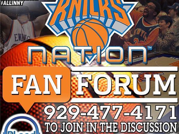 Knicks Fan Forum – Too Early?