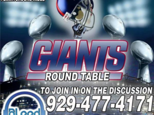 NY Giants Round Table – Controversial Blue